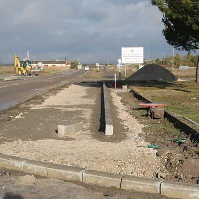 El Ayuntamiento completará el carril bici de la carretera de El Henar