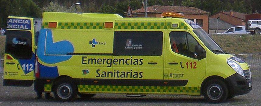 Fallece un joven de 21 años en un accidente de tráfico en Fuentepelayo