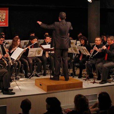La Banda de Música celebra Santa Cecilia con un concierto