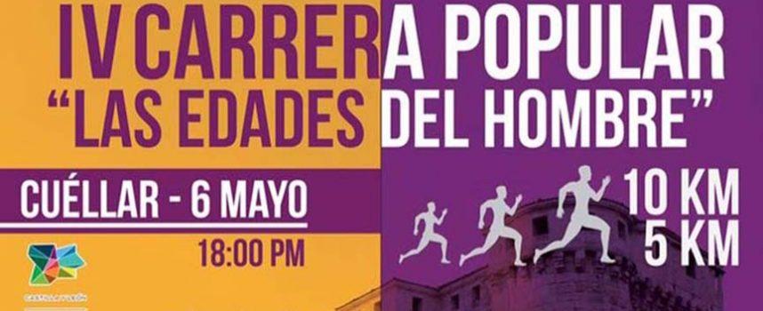 La Carrera Popular `Las Edades del Hombre´ se celebrará en Cuéllar el sábado 6 de mayo