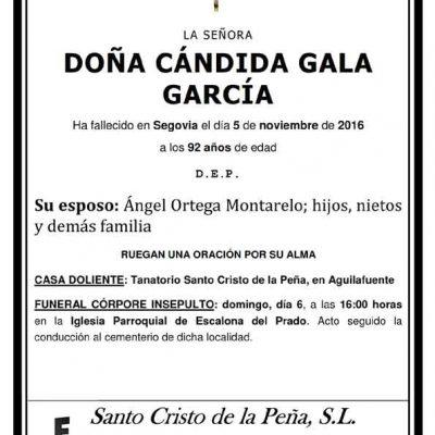Cándida Gala García