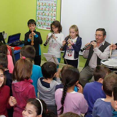 El CEIP San Gil se suma a la celebración del Día de la Música