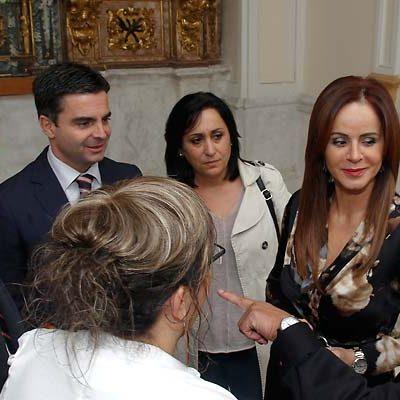 Silvia Clemente apela al esfuerzo de las instituciones para que las Edades del Hombre en Cuéllar tengan la mayor proyección posible