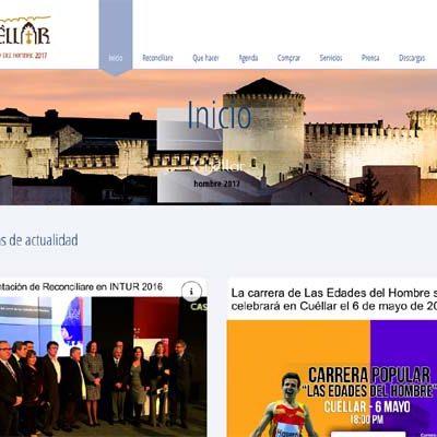 Turismo renueva la web municipal de Las Edades del Hombre