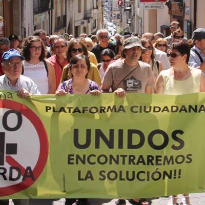 IU Segovia exige a las institucionesactuaciones inmediatas tras el último informe sobre la planta de Fuentepelayo