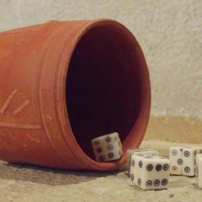 Exposición temporal `El juego en la Antigua Roma´ en el Aula Arqueológica de Aguilafuente