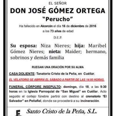 José Gómez Ortega