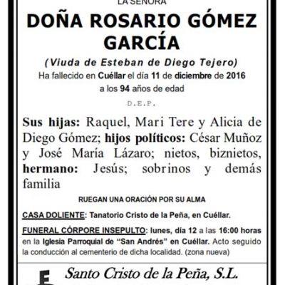 Rosario Gómez García