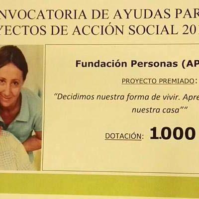 Los usuarios de Fundación Personas decorarán los pisos tutelados gracias a la ayuda de Bankia y Fundación Caja Segovia