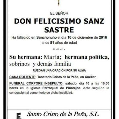 Felicísimo Sanz Sastre