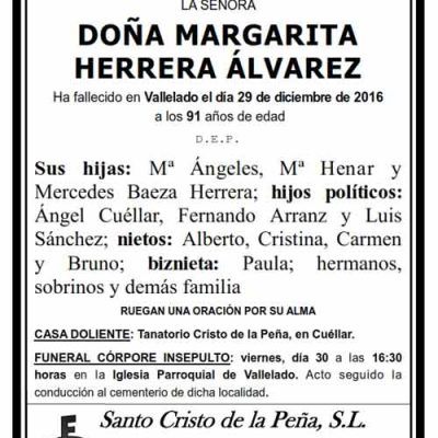 Margarita Herrera Álvarez