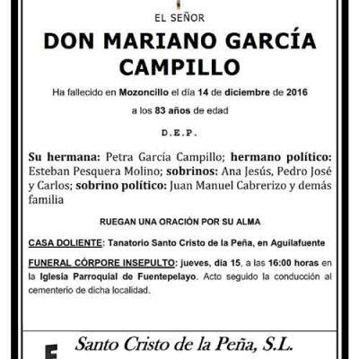 Mariano García Campillo
