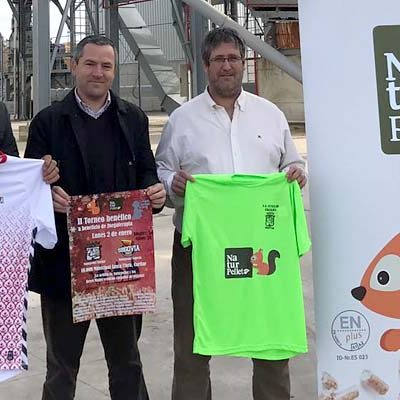 Partido solidario entre Naturpellet Segovia y Naturpellet Cuéllar a beneficio de Juegaterapia