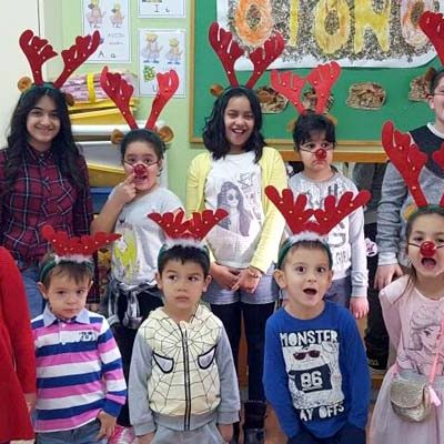 El CRA El Carracillo celebra el comienzo de la Navidad