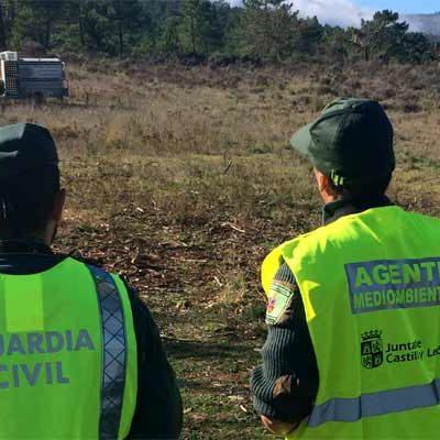 La Junta de Castilla y León y la Guardia Civil colaboran en el control de la caza mayor en la provincia