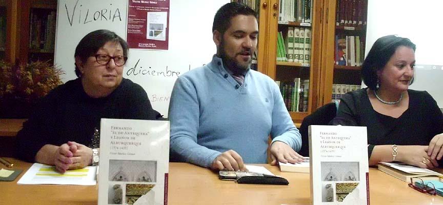Un momento de la presentación del libro.