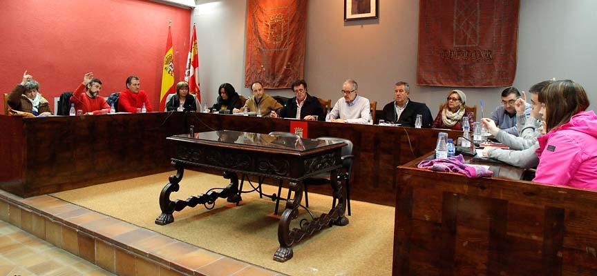 Los grupos de la oposición votaron en contra del presupuesto.