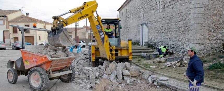 Comienzan las obras de eliminación de barreras en la iglesia de San Andrés