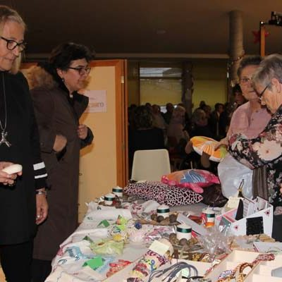 El Centro de Día abre las puertas de su Rastrillo Solidario a beneficio de la Asociación Segoviana de Esclerosis Múltiple