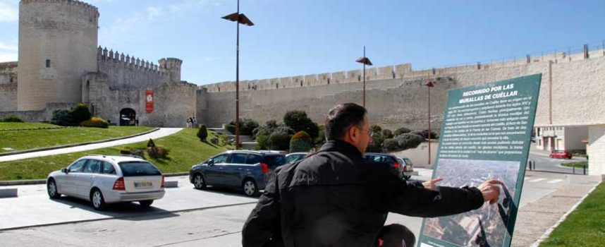 Turismo elabora un nuevo plano oficial de Cuéllar de cara a las Edades del Hombre