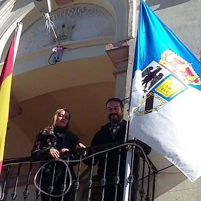 Aguilafuente estrena el año con escudo y bandera nuevos