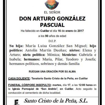 Arturo González Pascual