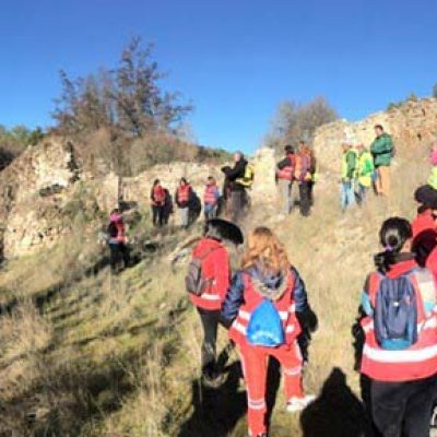 Visita a las presas del rio Cega con la Asociación La Peguera