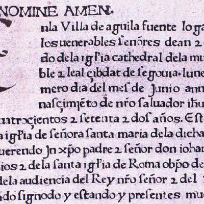 Fermín de los Reyes dirigirá un proyecto de investigación que recopilará y describirá los incunables españoles