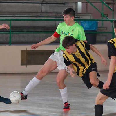 Cuéllar Cojalba y Atlético Benavente empatan en la División de Honor Juvenil