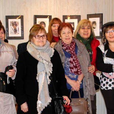 Una exposición fotográfica abre las actividades de Santa Águeda en Cuéllar