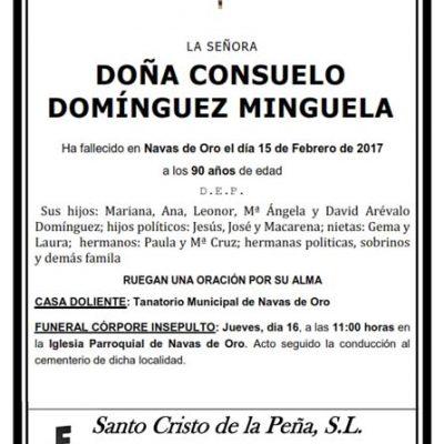Consuelo Domínguez Minguela