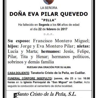 Eva Pilar Quevedo