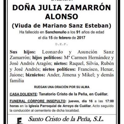 Julia Zamarrón Alonso