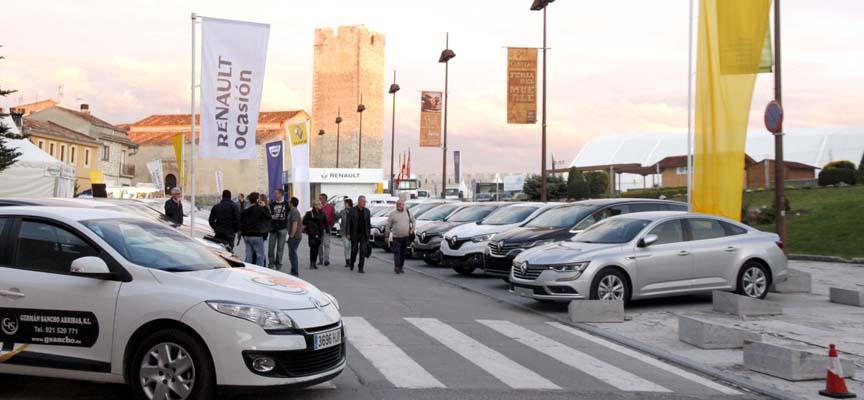 Exposición de vehículos de GSancho en la Feria de Cuéllar.