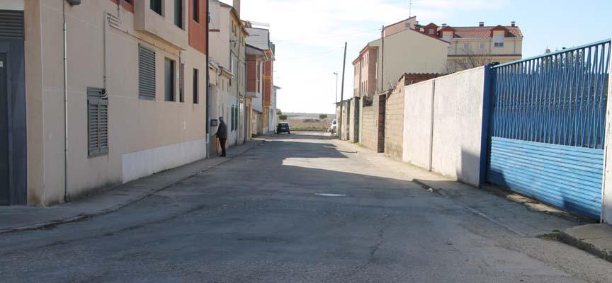Estado actual de la calle Colombia.