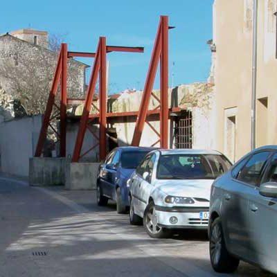 Las consolidación del edificio junto al Hospital de la Magdalena comenzará esta semana