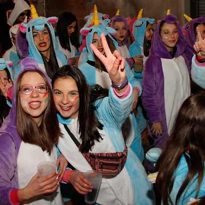 Las calles de Cuéllar se vestirán esta noche de carnaval