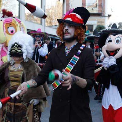 Los más pequeños, protagonistas del carnaval en las calles