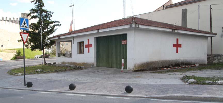 Sede de Cruz Roja en Cuéllar.