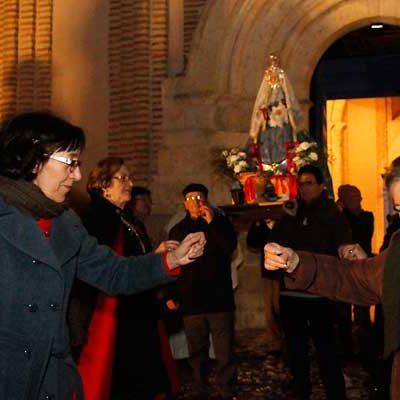 La virgen de Las Candelas recorrerá el viernes las calles de San Andrés
