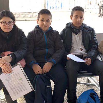 Cinco alumnos del CEIP San Gil han participado en el certamen autonómico `Lectura en Público´