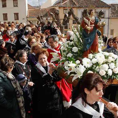 La cofradía de Santa Águeda de Cuéllar celebra sus actos el domingo