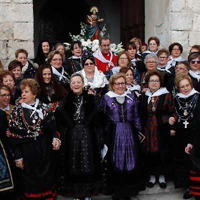 La Asociación Cofradía de Santa Águeda de Cuéllar prepara su fiesta