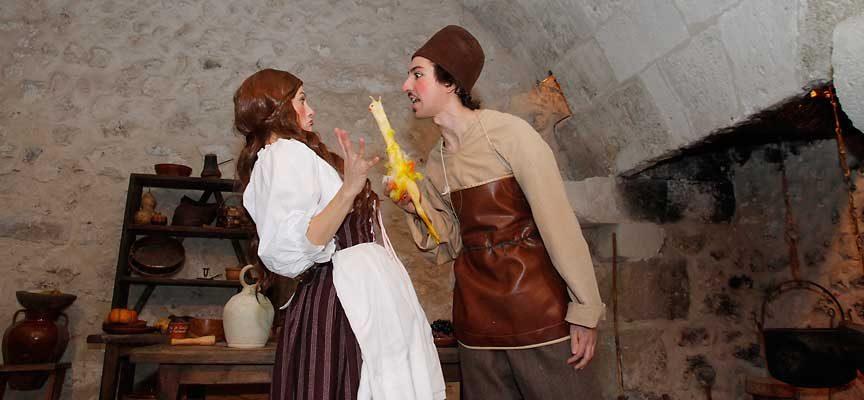 El nuevo espectáculo teatralizado del Castillo centrará las propuestas de Cuéllar en Fitur