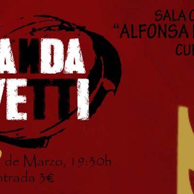 La Banda Olivetti protagonista hoy de `Los Conciertos de la Escuela´