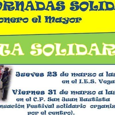 Carbonero el Mayor abre sus Jornadas Solidarias con el `bocata solidario´ en el IES Vega de Pirón