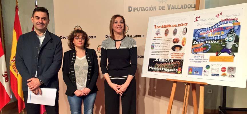 Presentación ayer en Valladolid.
