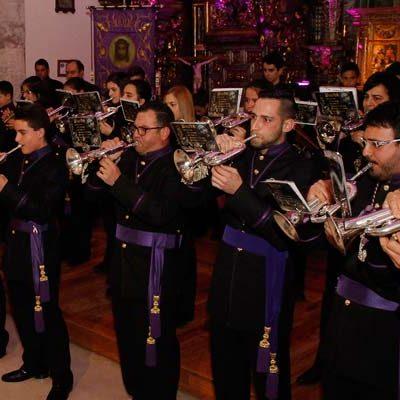 La Banda de la Cofradía del Nazareno participa hoy en Segovia en el Certamen Nacional de Bandas `Sones de oración´