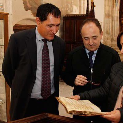 El Ayuntamiento e Ignacio Ruiz preparan la exposición sobre la comunidad sefardí de Cuéllar