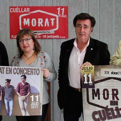 Morat ofrecerá un concierto en la Plaza de Toros de Cuéllar el 11 de julio